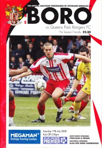 Copyright:  Stevenage FC Official Programme